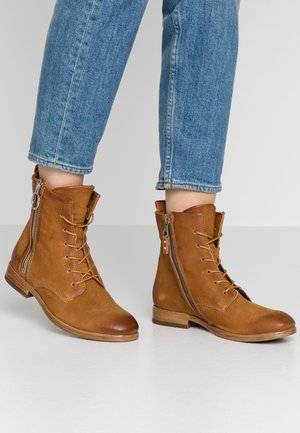 Lace-up ankle boots - sella rame