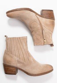 MJUS - Cowboy/biker ankle boot - opale - 3