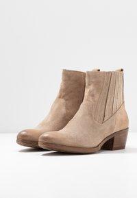 MJUS - Cowboy/biker ankle boot - opale - 4