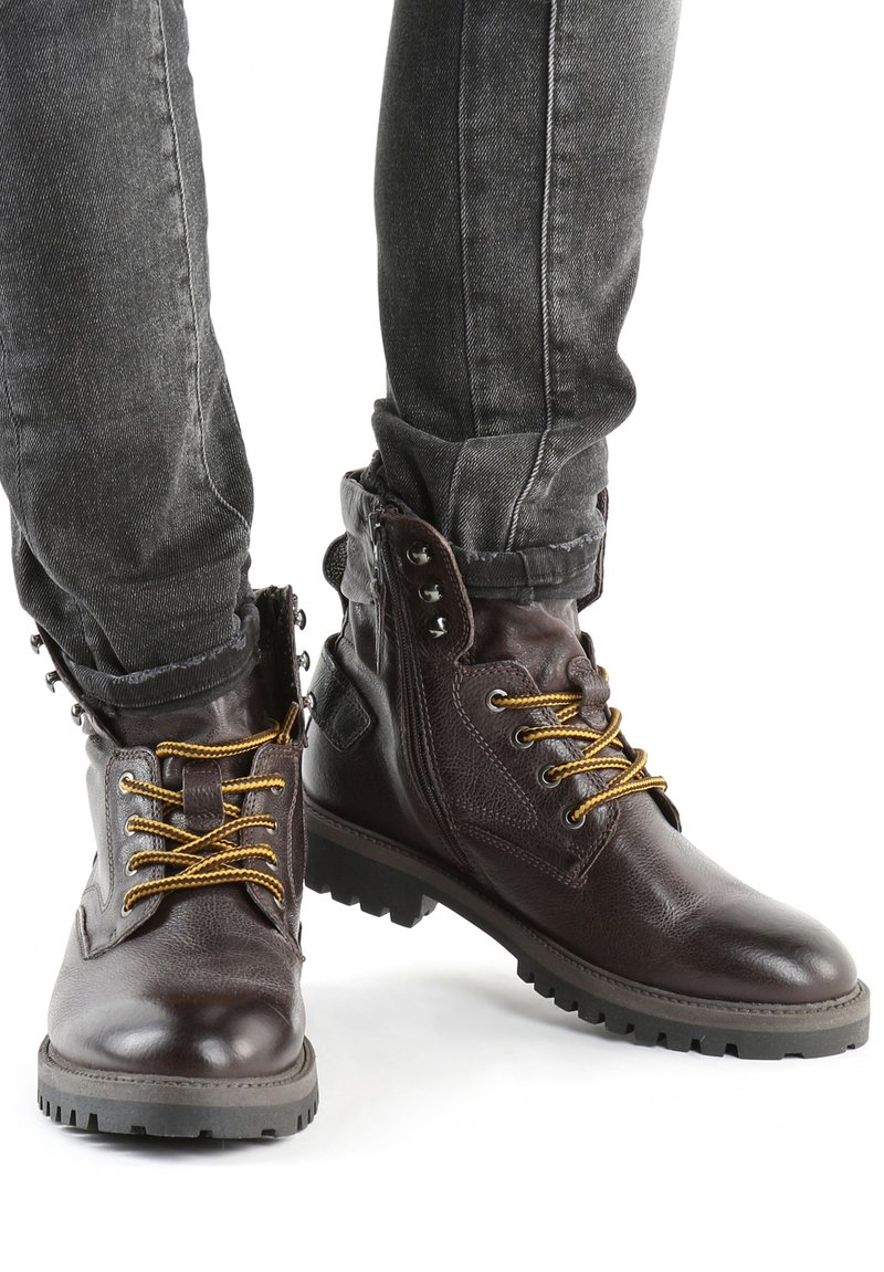 MJUS - Lace-up ankle boots - brown