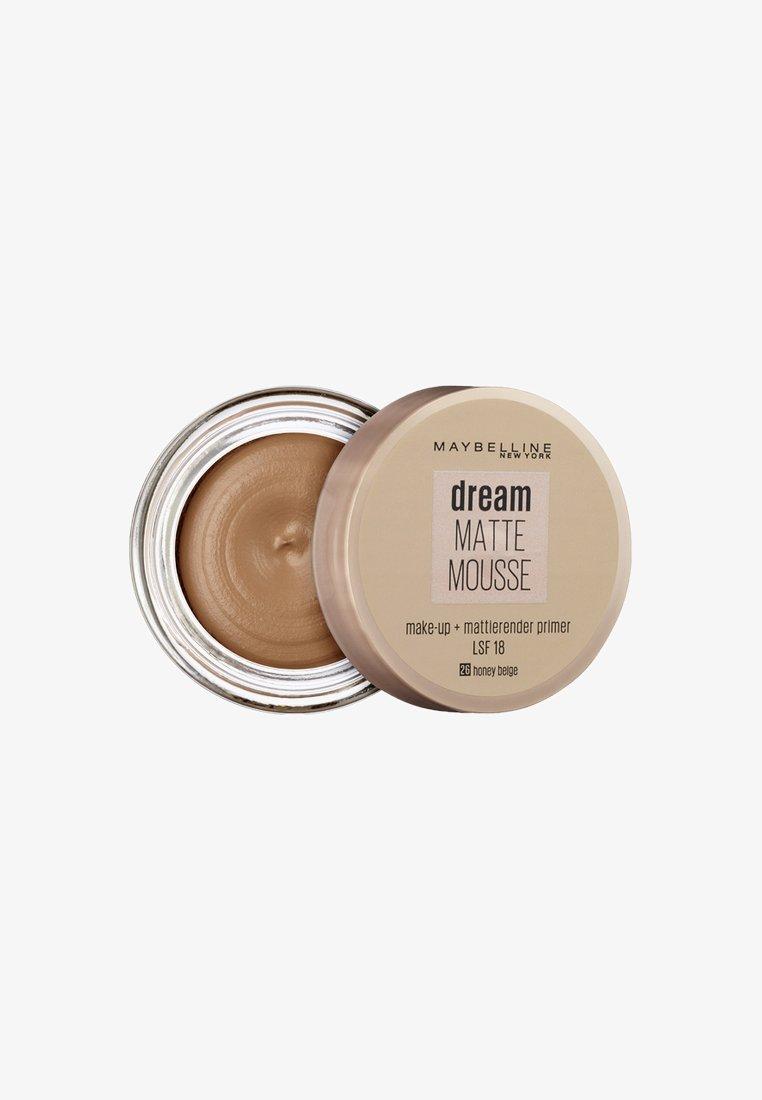 Maybelline New York - DREAM MATTE MOUSSE MAKE-UP - Fondotinta - 26 honey beige