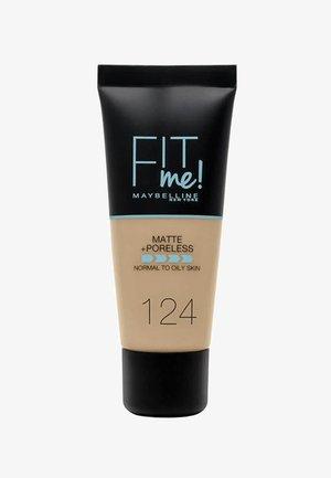 FIT ME MATTE & PORELESS MAKE-UP - Foundation - 124
