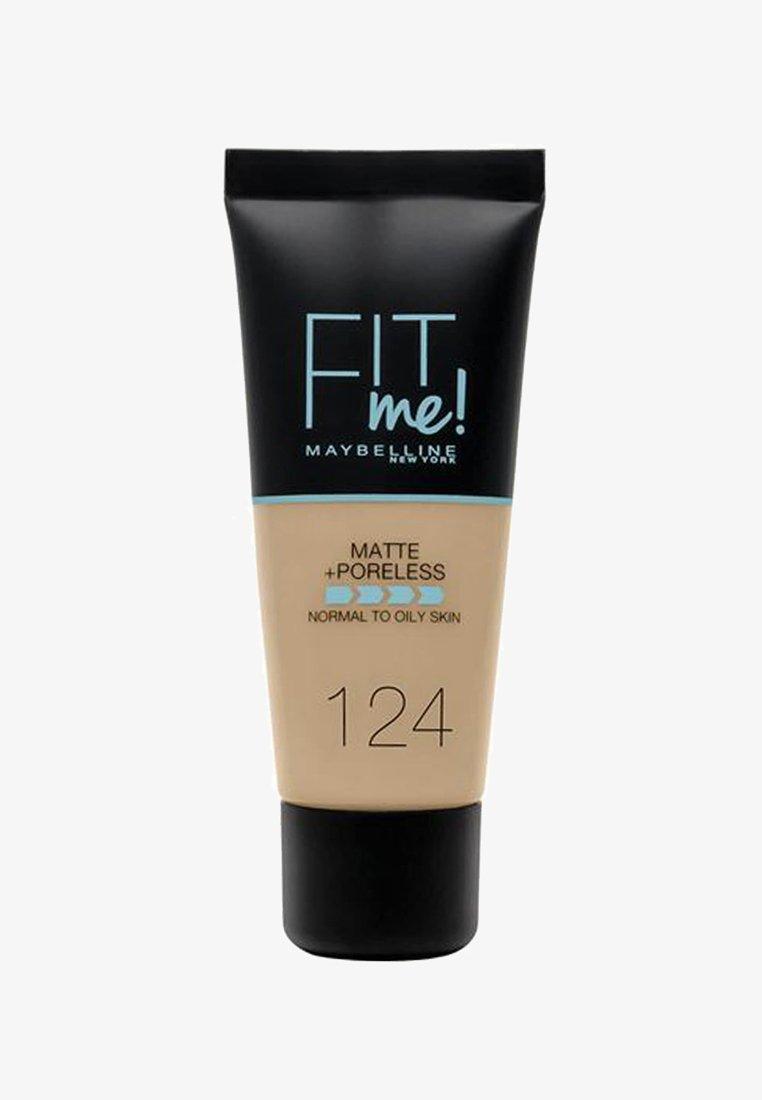 Maybelline New York - FIT ME MATTE & PORELESS MAKE-UP - Fond de teint - 124