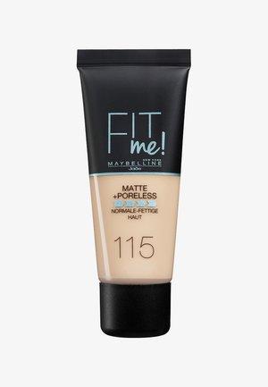 FIT ME MATTE & PORELESS MAKE-UP - Foundation - 115 ivory
