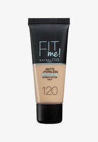 Maybelline New York - FIT ME MATTE & PORELESS MAKE-UP - Fond de teint - 120 classic - 0