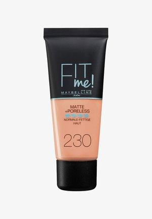 FIT ME MATTE & PORELESS MAKE-UP - Foundation - 230 natural buff