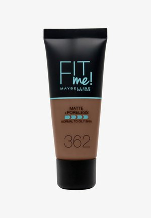 FIT ME MATTE & PORELESS MAKE-UP - Foundation - 362 deep golden
