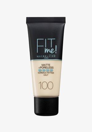 FIT ME MATTE & PORELESS MAKE-UP - Fond de teint - 100