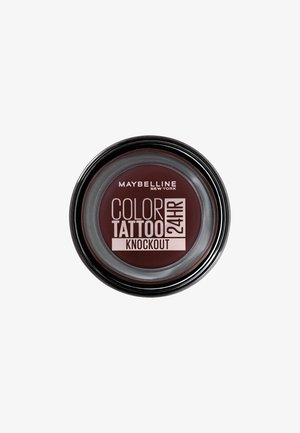 COLOR TATTOO CREME-GEL EYESHADOW - Fard à paupières - knockout