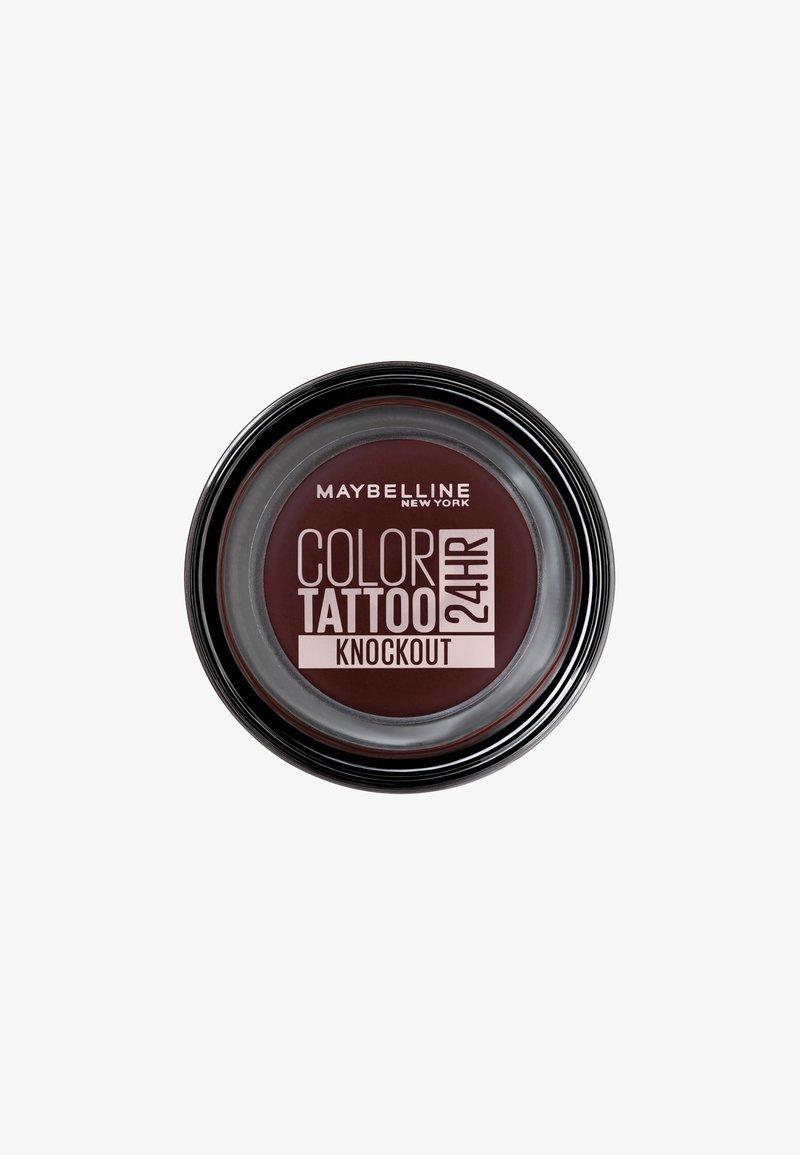 Maybelline New York - COLOR TATTOO CREME-GEL EYESHADOW - Eye shadow - knockout