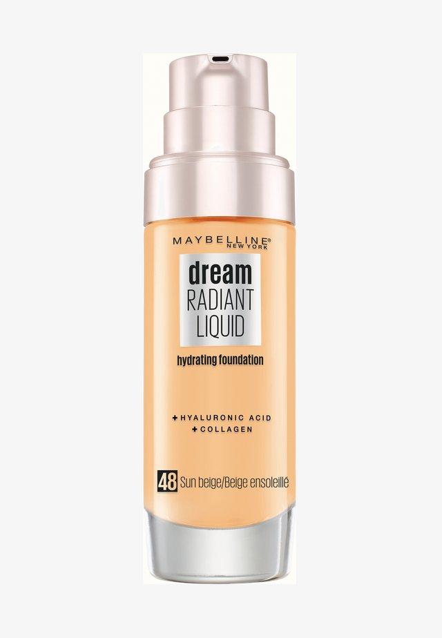 DREAM RADIANT LIQUID MAKE-UP - Foundation - 48 sun beige