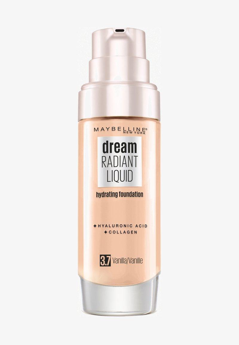 Maybelline New York - DREAM RADIANT LIQUID MAKE-UP - Fond de teint - 37 vanilla