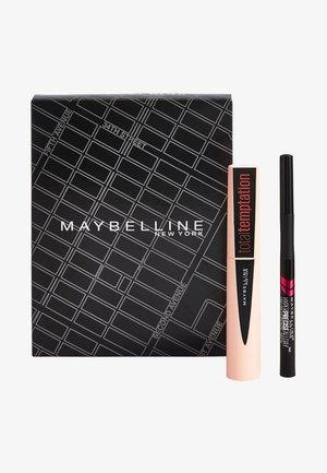 MAKE-UP SET TOTAL TEMPTATION MASCARA + HYPER PRECISE LIQUID LINER - Set de maquillage - matte black