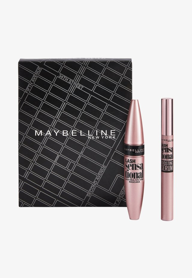 LASH SENSATIONAL ROUTINE MAKE-UP SET - Make-upset - matte black