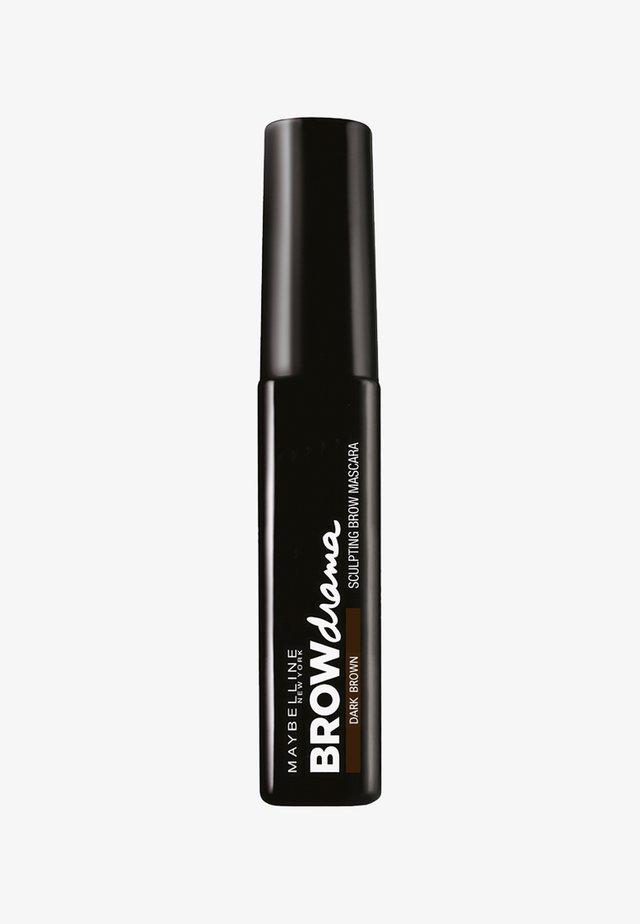 BROW DRAMA AUGENBRAUEN-GEL - Augenbrauengel - dark brown