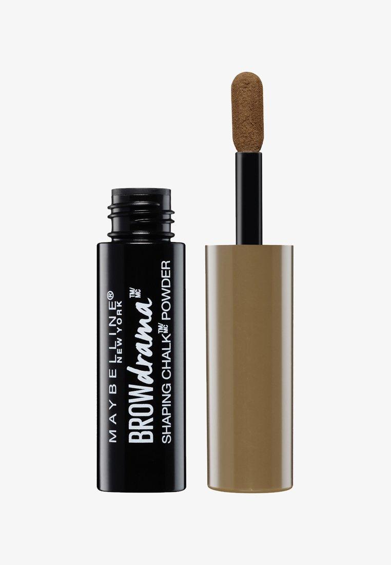 Maybelline New York - BROW DRAMA SHAPING CHALK - Augenbrauen Make-up - 120 medium