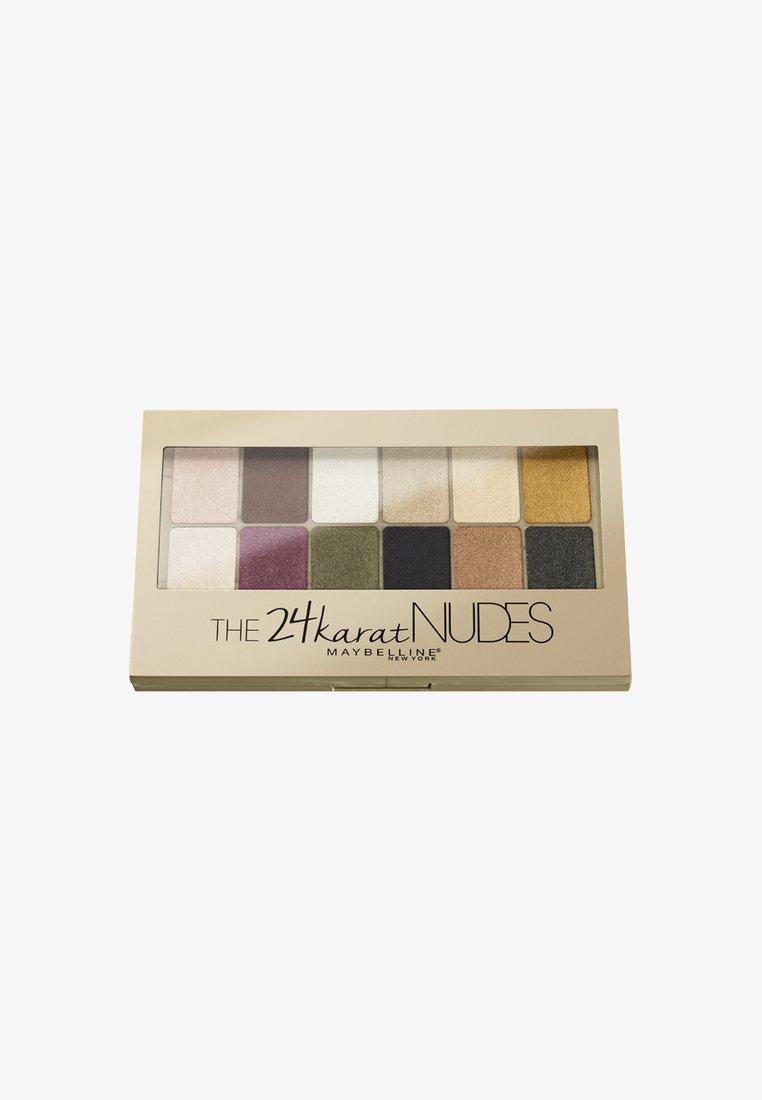 Maybelline New York - NUDES LIDSCHATTENPALETTE - Eyeshadow palette - 24 karat
