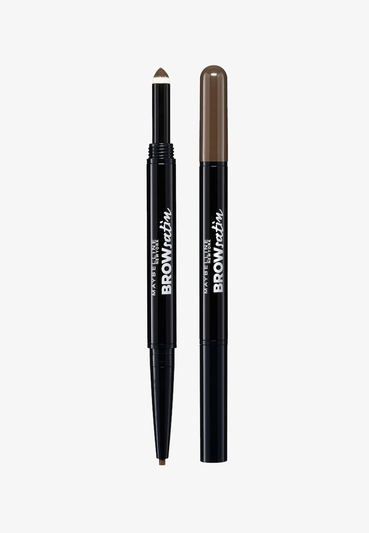 Maybelline New York - BROW SATIN DUO - Trucco per sopracciglia - dark brown