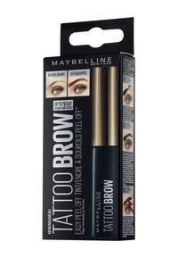 Maybelline New York - BROW TATTOO GEL TINT - Wenkbrauwgel - 01 light - 2