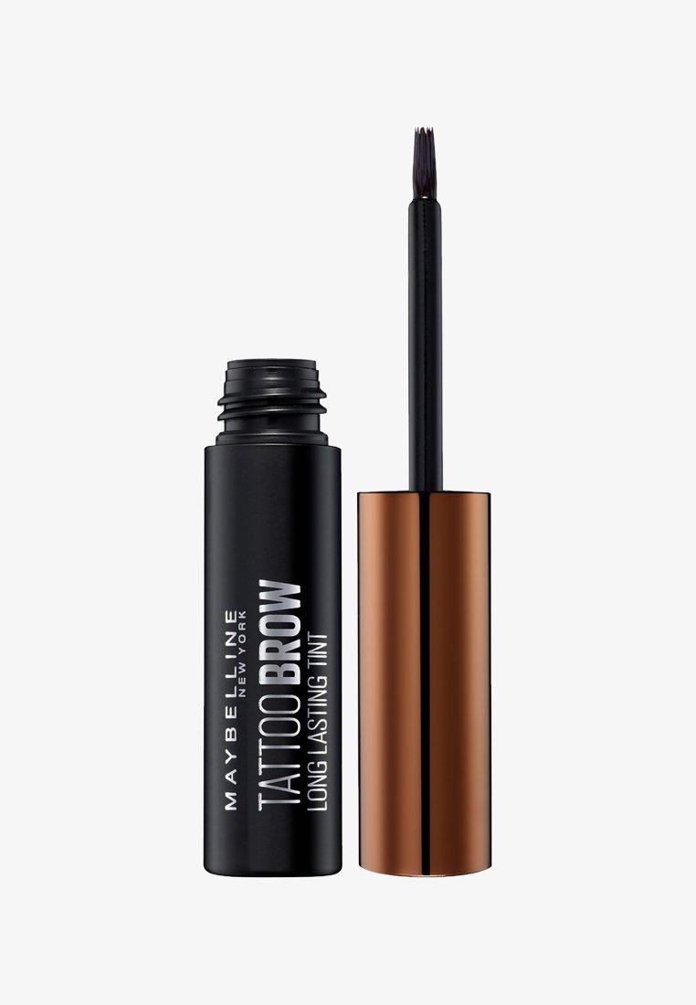 Maybelline New York - BROW TATTOO GEL TINT - Eyebrow gel - 02 medium