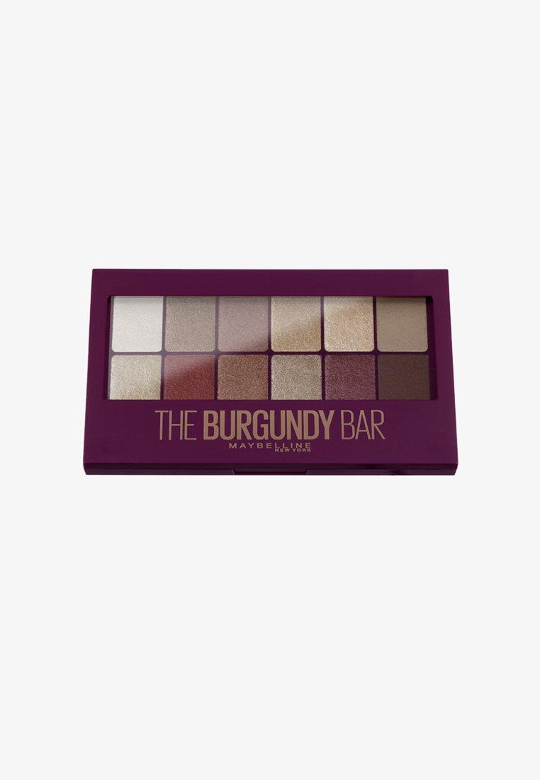 Maybelline New York - BURGUNDY BAR PALETTE - Palette fard à paupière - 0 neutral