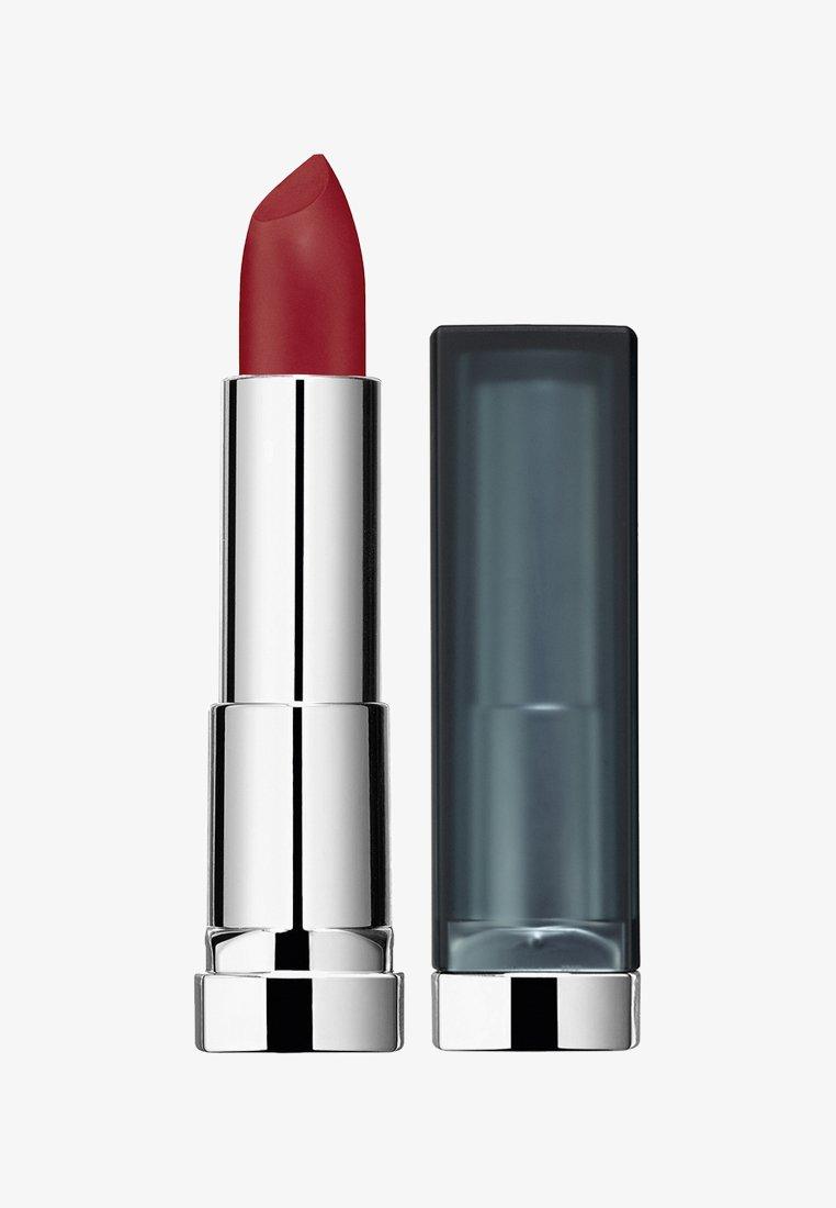 Maybelline New York - COLOR SENSATIONAL CREAMY MATTES LIPSTICK - Rouge à lèvres - 968 rich rub