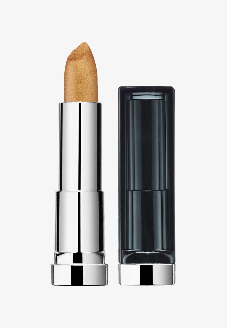 Maybelline New York - COLOR SENSATIONAL MATTE METALLICS LIPSTICK - Lippenstift - 10 pure gold