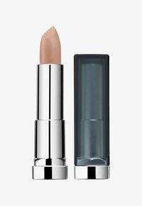 Maybelline New York - COLOR SENSATIONAL MATTES NUDES LIPSTICK - Rouge à lèvres - 981 purely nude - 0