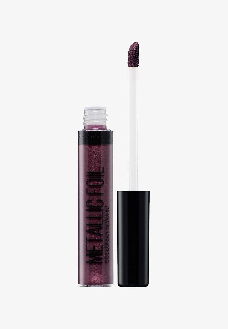Maybelline New York - COLOR SENSATIONAL METALLIC FOIL LIQUID LIPSTICK - Flüssiger Lippenstift - 120 nemesis
