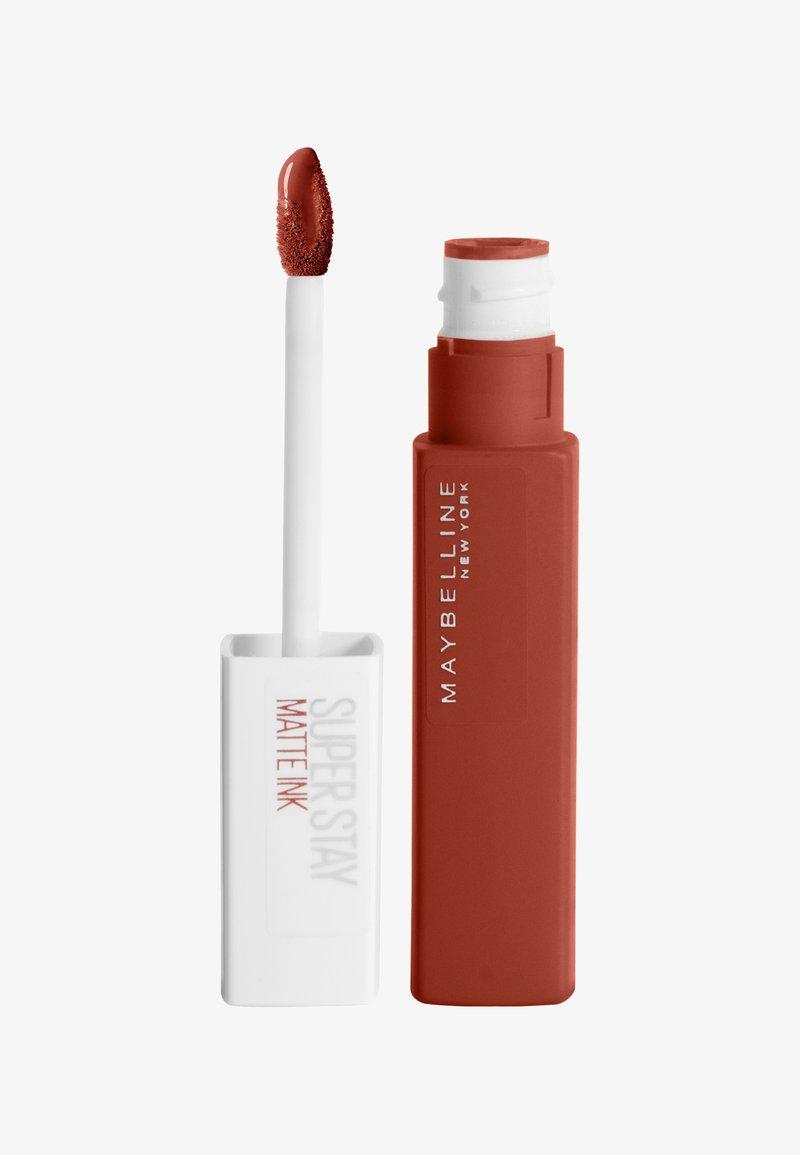 Maybelline New York - SUPERSTAY MATTE INK  - Liquid lipstick - 117 ground-breaker