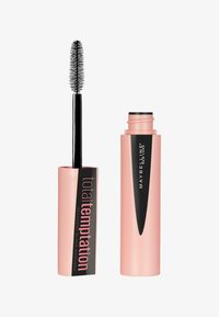 Maybelline New York - TOTAL TEMPTATION MASCARA - Mascara - decadent black - 0
