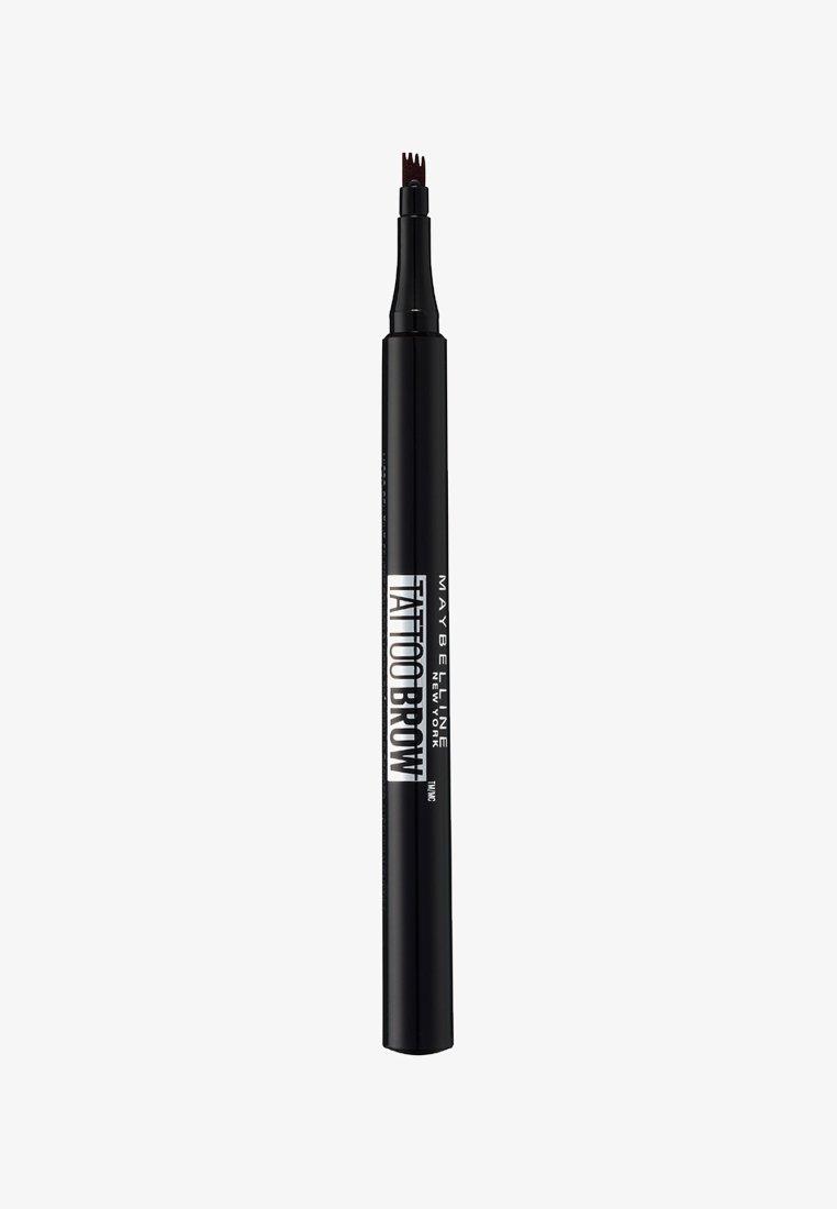 Maybelline New York - TATTOO BROW EYEBROW PENCIL - Eyebrow pencil - 120 medium brown