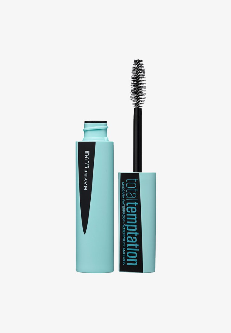 Maybelline New York - TOTAL TEMPTATION MASCARA BLACK WATERPROOF - Mascara - 01 black waterproof