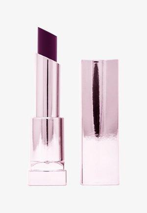 COLOR SENSATIONAL SHINE LIPSTICK COMPULSION - Lippenstift - 125 plum o.