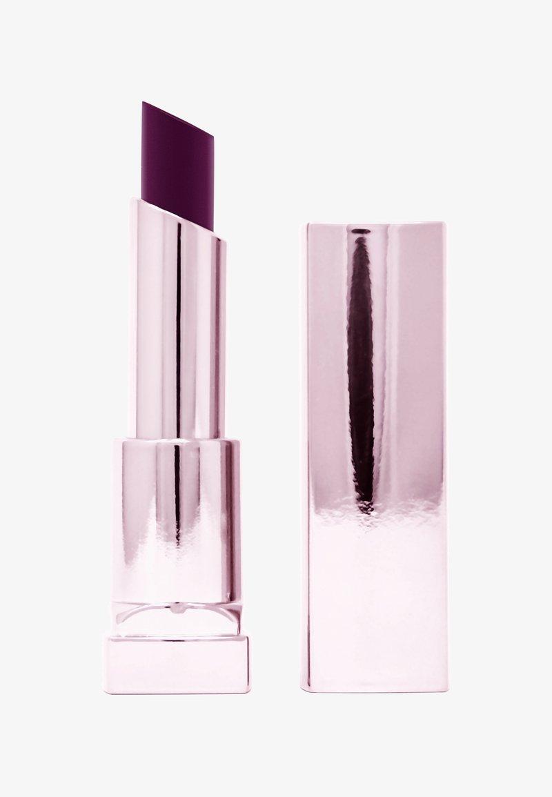 Maybelline New York - COLOR SENSATIONAL SHINE LIPSTICK COMPULSION - Rouge à lèvres - 125 plum o.