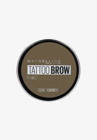 Maybelline New York - TATTOO BROW POMADE - Eyebrow powder - 003 medium brown - 0