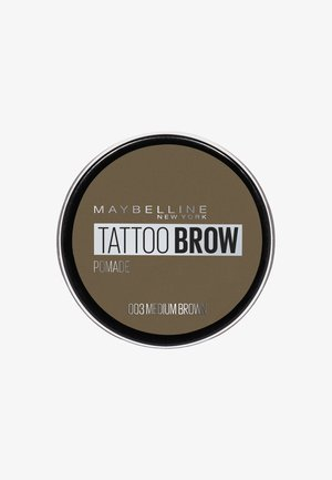 TATTOO BROW POMADE - Puder do brwi - 003 medium brown