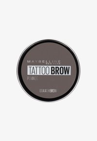 Maybelline New York - TATTOO BROW POMADE - Eyebrow powder - 004 ash brown - 0
