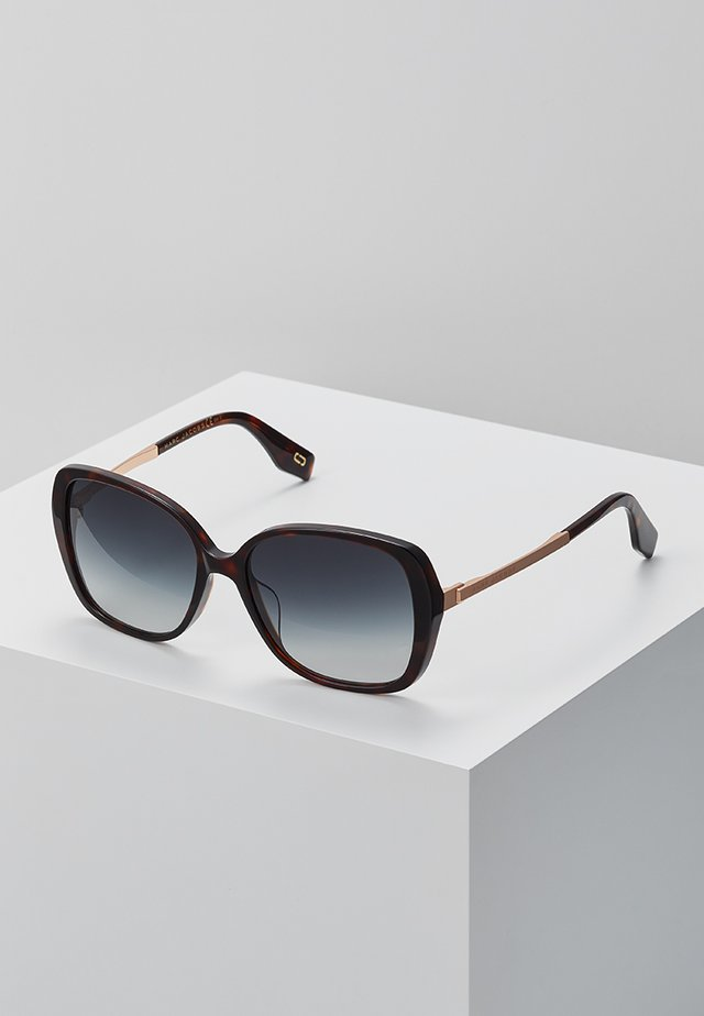 Sonnenbrille - mottled dark brown