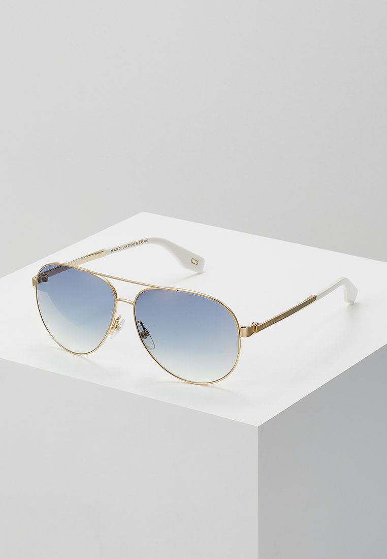 Marc Jacobs - Sonnenbrille - gold-coloured/white