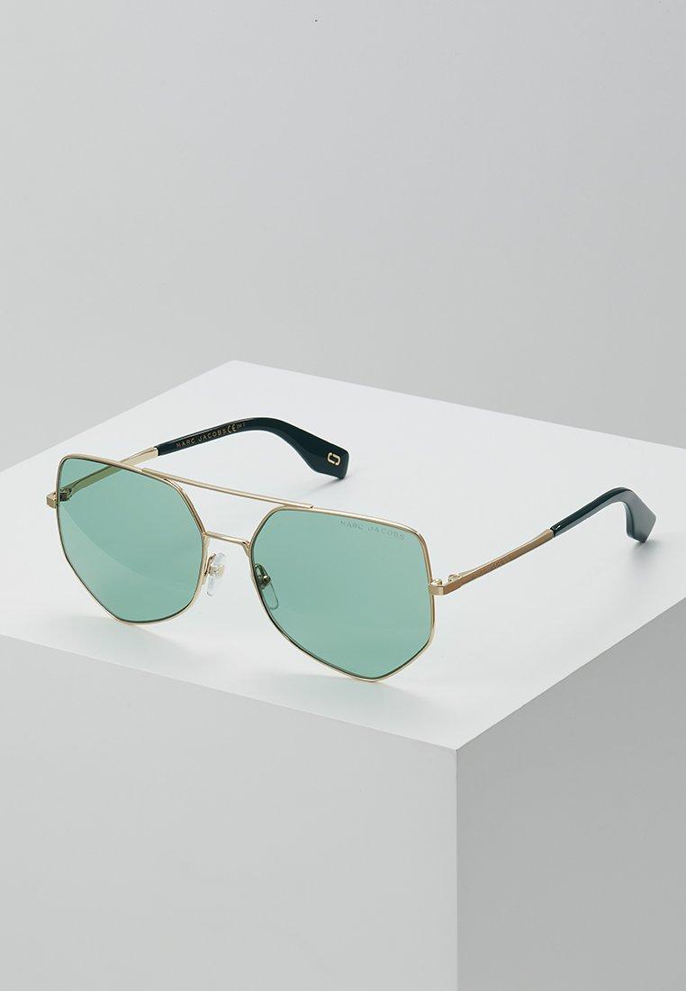 Marc Jacobs - Solbriller - gold-coloured/green