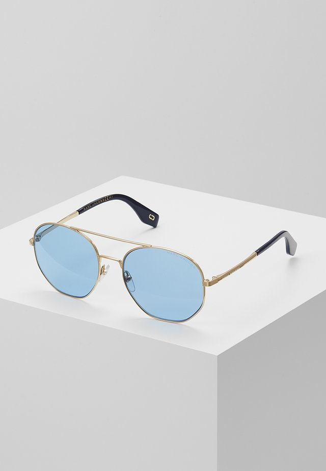 Sonnenbrille - golden-coloured/blue