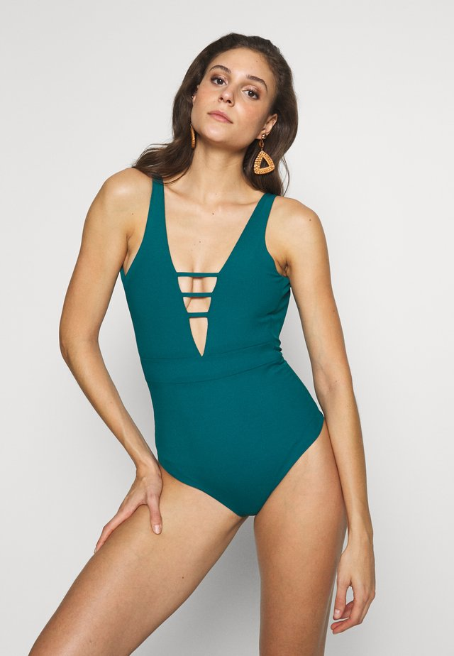 RAINFOREST ASHONE PIECE - Plavky - green