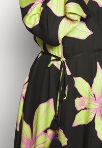 Maaji - TALE OF TALES KIMONO - Maxi šaty - black - 5