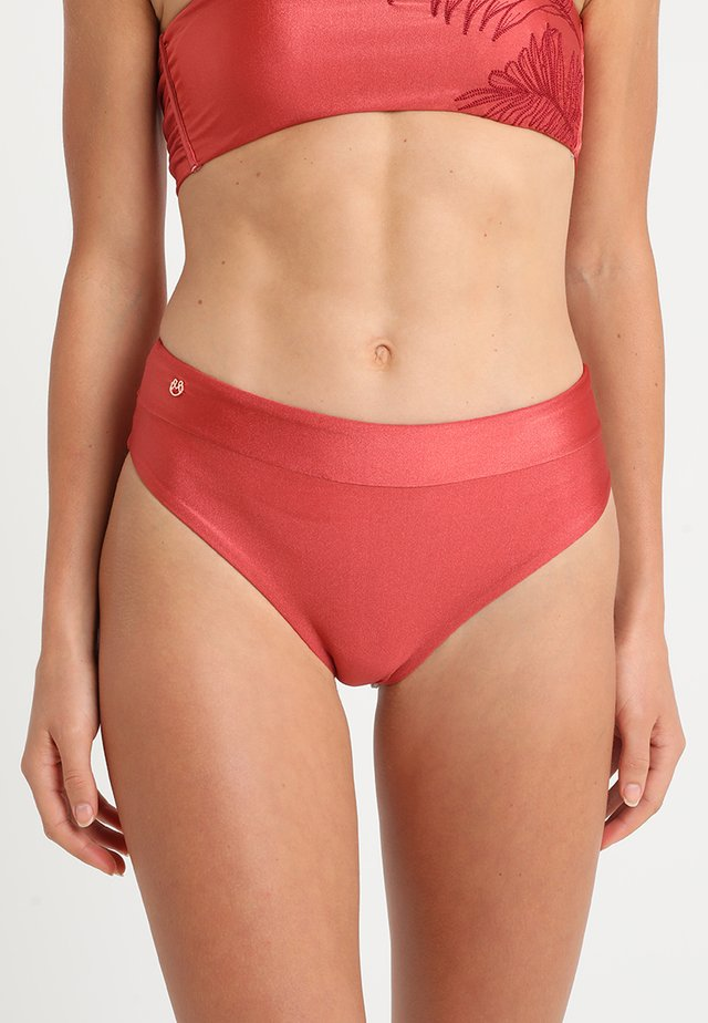 SANGRIA SUZY CHEEKY CUT - Bikiniunderdel - open red
