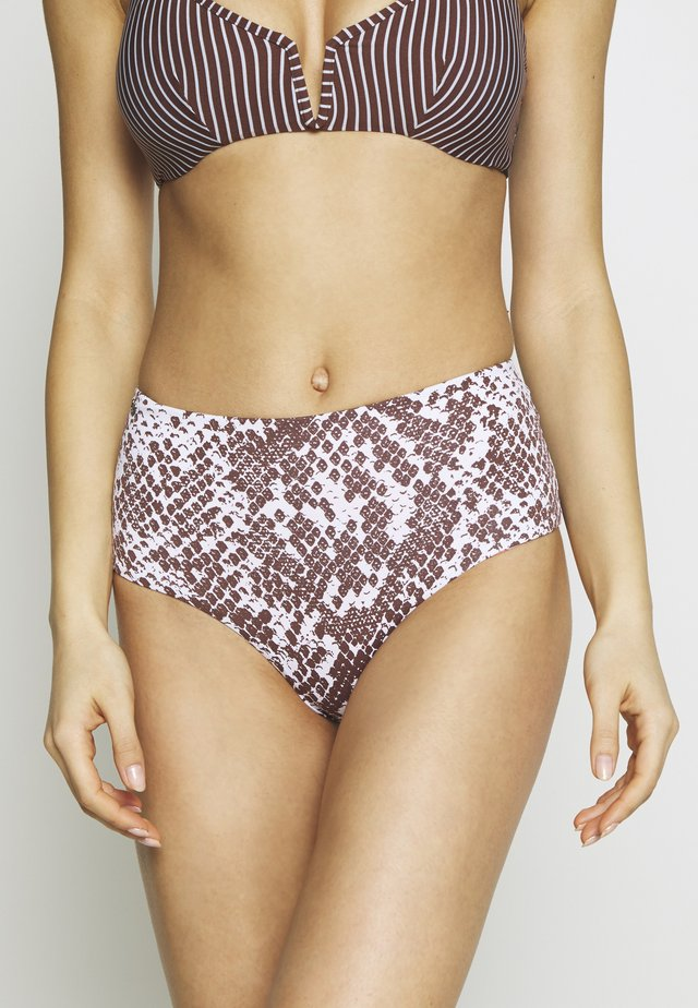 MOON AND SEA DARLINGHISE RISE BOTTOM CHEEKY CUT - Bikini-Hose - multi