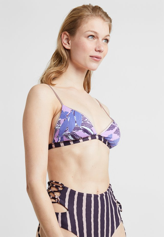 LOVE AFFAIR FIXED TRIANGLE - Bikini top - multicolor
