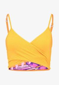 Maaji - FARRAH CROSS CROP WRAPEPD CAMI - Bikini top - yellow - 5