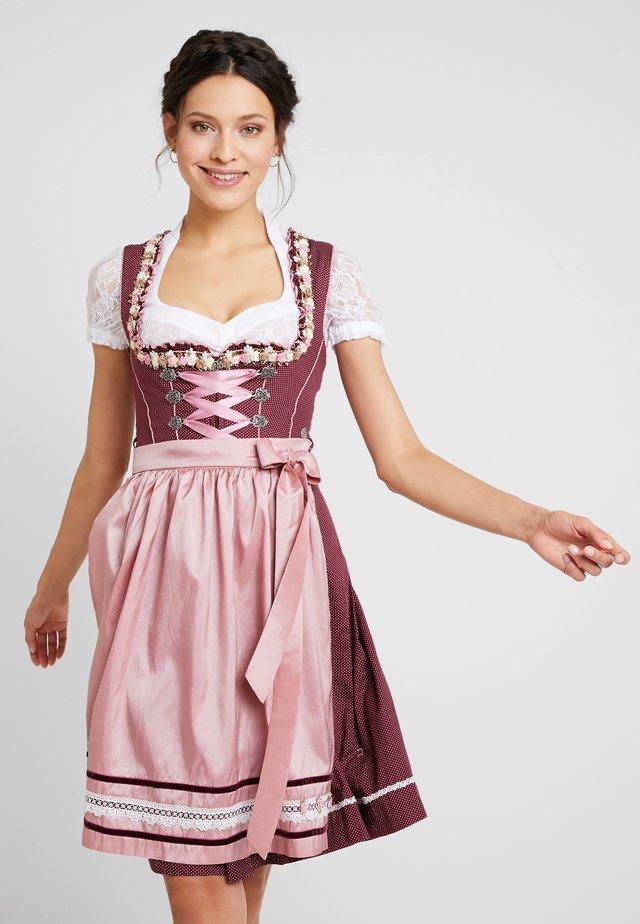 FOMELLA - Dirndl - beere/rosa