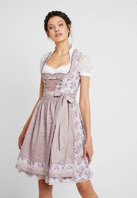 Marjo - FANCY - Dirndl - mauve - 0